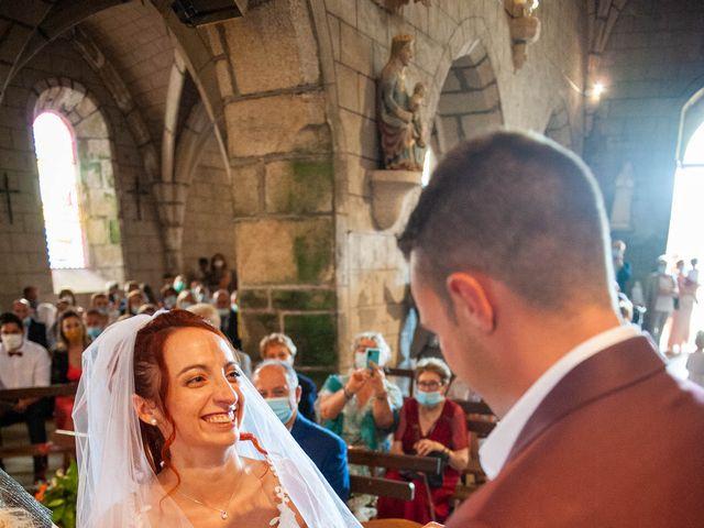 Le mariage de Sébastien et Virginie à Châtelus-le-Marcheix, Creuse 35