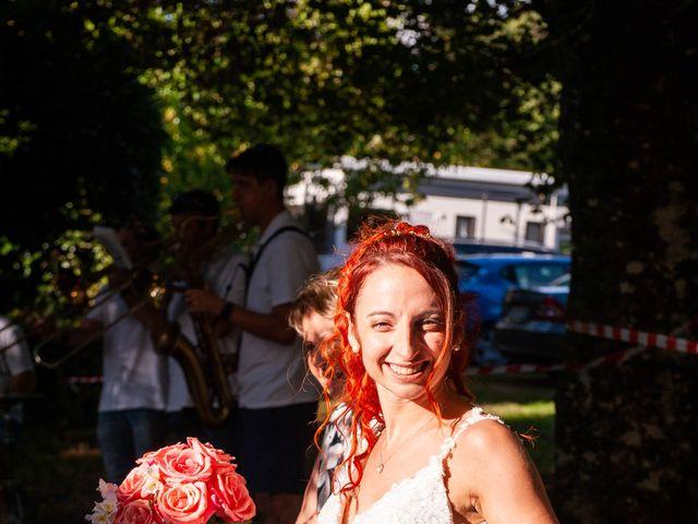 Le mariage de Sébastien et Virginie à Châtelus-le-Marcheix, Creuse 42