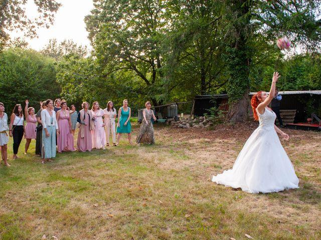 Le mariage de Sébastien et Virginie à Châtelus-le-Marcheix, Creuse 45