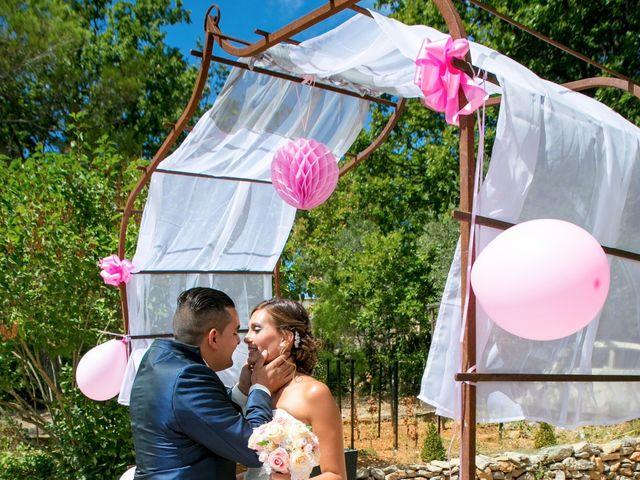 Le mariage de Benjamin et Marion à Saint-Maximin-la-Sainte-Baume, Var 17