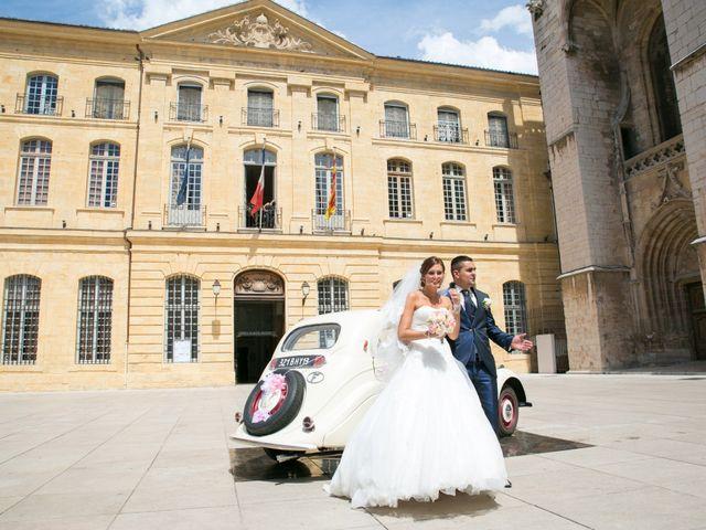 Le mariage de Benjamin et Marion à Saint-Maximin-la-Sainte-Baume, Var 19