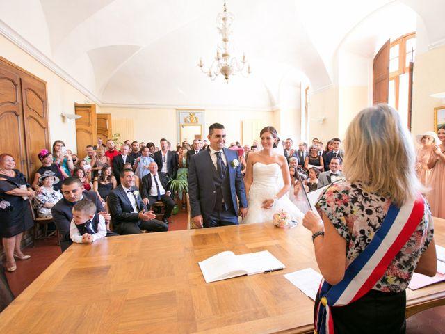 Le mariage de Benjamin et Marion à Saint-Maximin-la-Sainte-Baume, Var 22