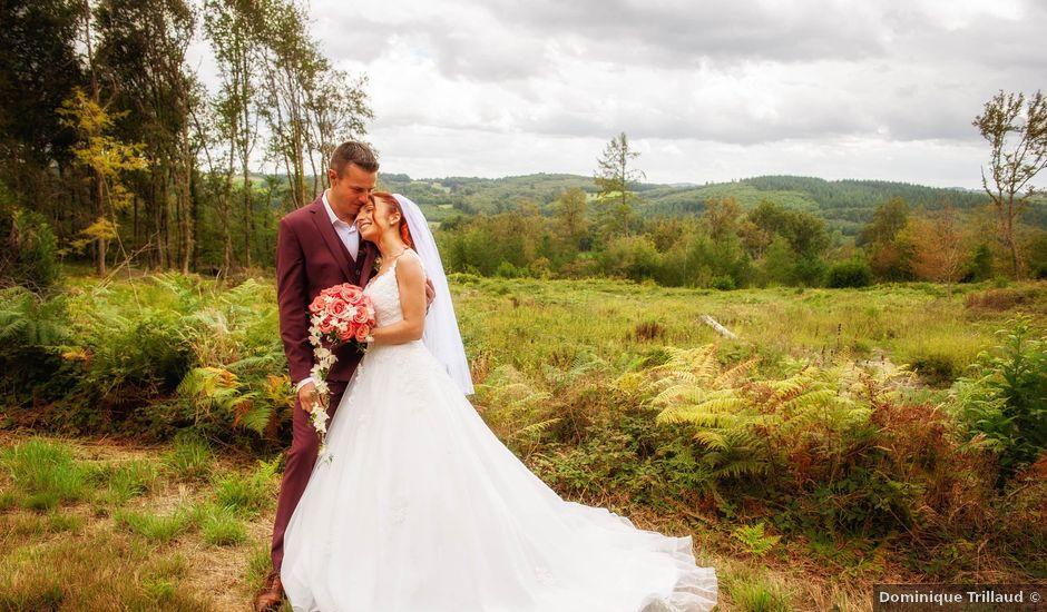Le mariage de Sébastien et Virginie à Châtelus-le-Marcheix, Creuse