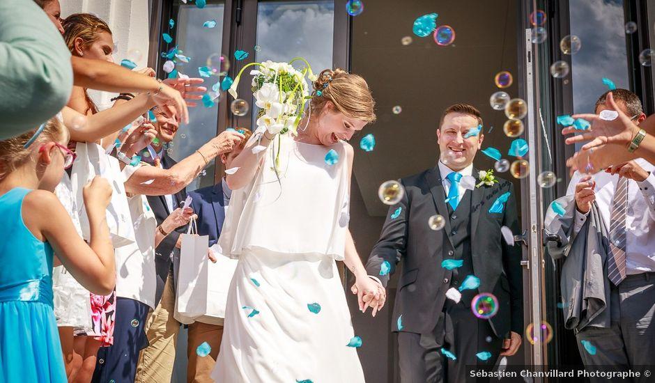 Le mariage de Reynald et Sarah à Chambéry, Savoie