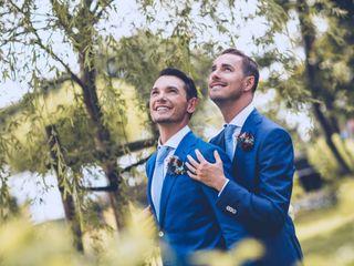 Le mariage de David et Pierre
