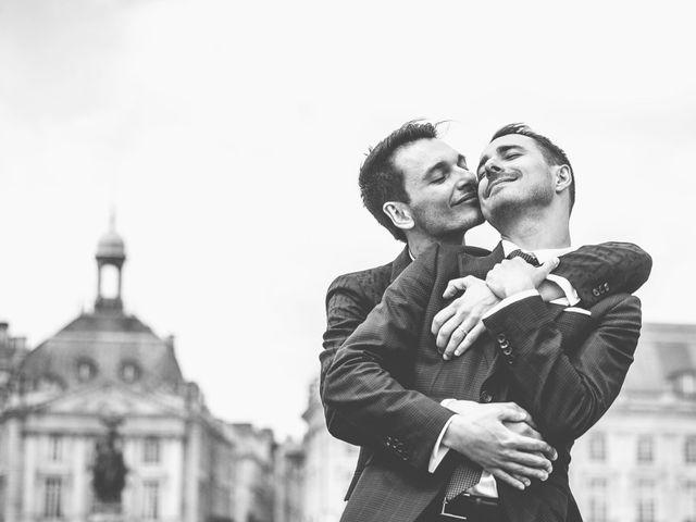 Le mariage de Pierre et David à Bordeaux, Gironde 15