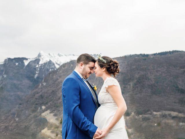 Le mariage de Julien et Judith à Talloires, Haute-Savoie 5