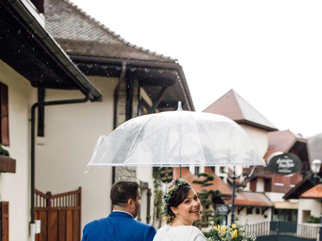 Le mariage de Julien et Judith à Talloires, Haute-Savoie 6