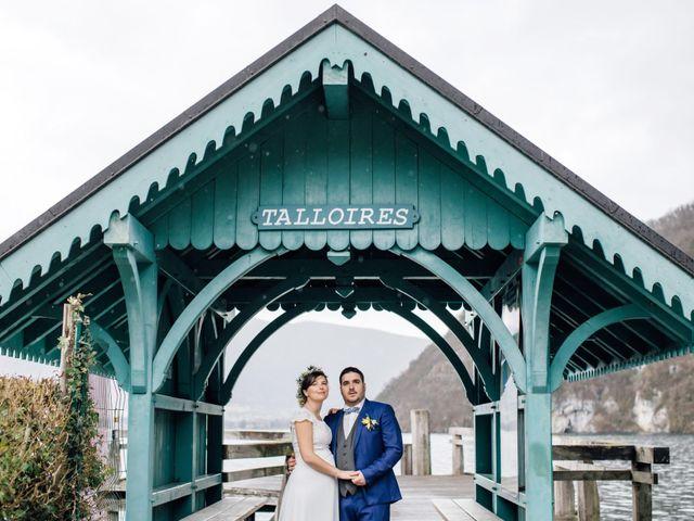 Le mariage de Julien et Judith à Talloires, Haute-Savoie 9