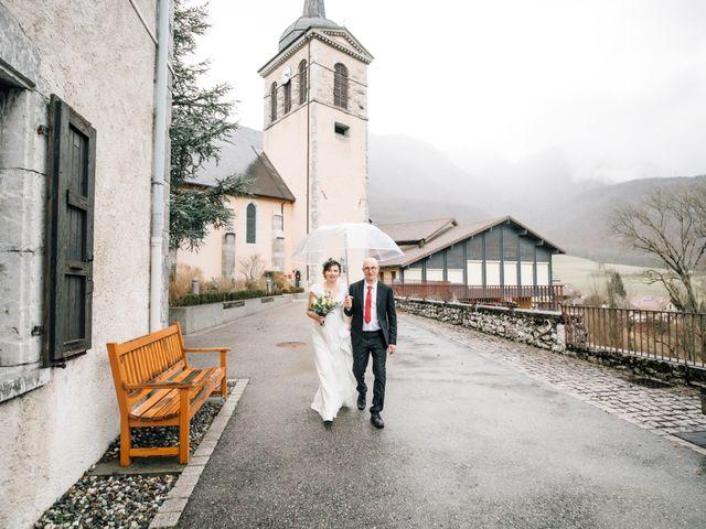 Le mariage de Julien et Judith à Talloires, Haute-Savoie 13