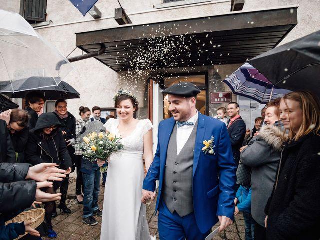 Le mariage de Julien et Judith à Talloires, Haute-Savoie 16