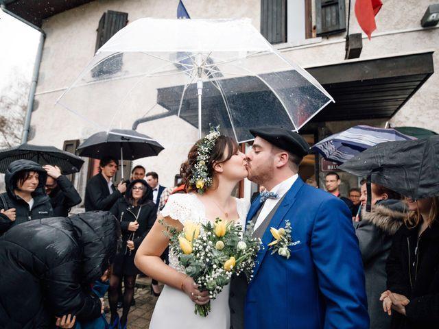Le mariage de Julien et Judith à Talloires, Haute-Savoie 17