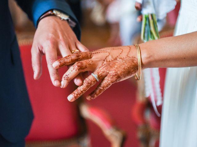 Le mariage de Romain et Khalida à Toulouse, Haute-Garonne 31