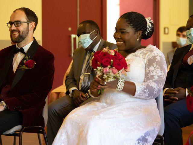 Le mariage de Yohan et Celeste à Château-Larcher, Vienne 62