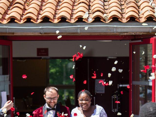 Le mariage de Yohan et Celeste à Château-Larcher, Vienne 81