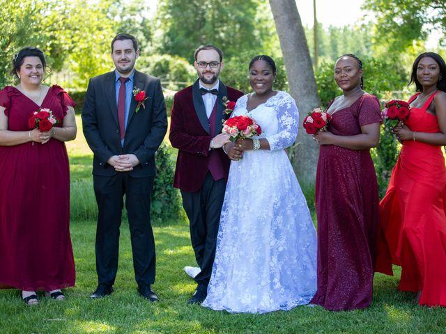 Le mariage de Yohan et Celeste à Château-Larcher, Vienne 95