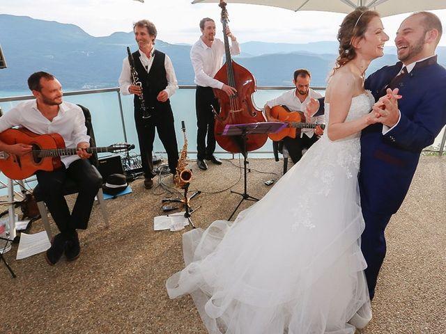 Le mariage de Thibaut et Fanny à Aix-les-Bains, Savoie 9