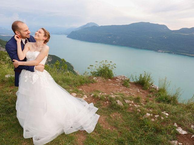 Le mariage de Thibaut et Fanny à Aix-les-Bains, Savoie 12