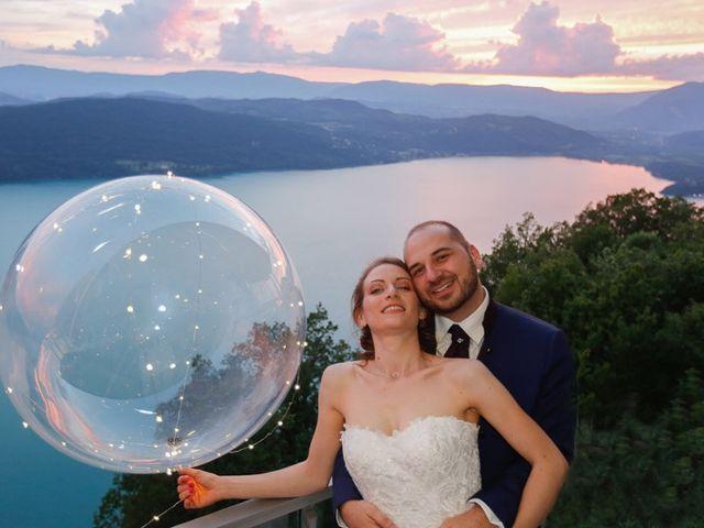 Le mariage de Thibaut et Fanny à Aix-les-Bains, Savoie 15
