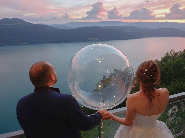 Le mariage de Thibaut et Fanny à Aix-les-Bains, Savoie 16
