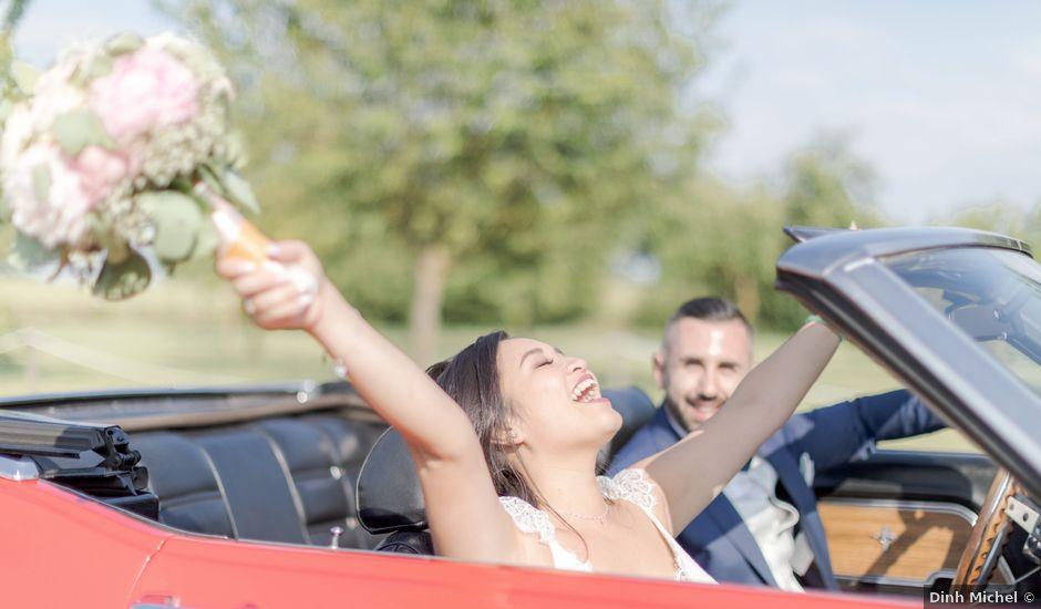 Le mariage de Marc et Bao à Juilly, Seine-et-Marne