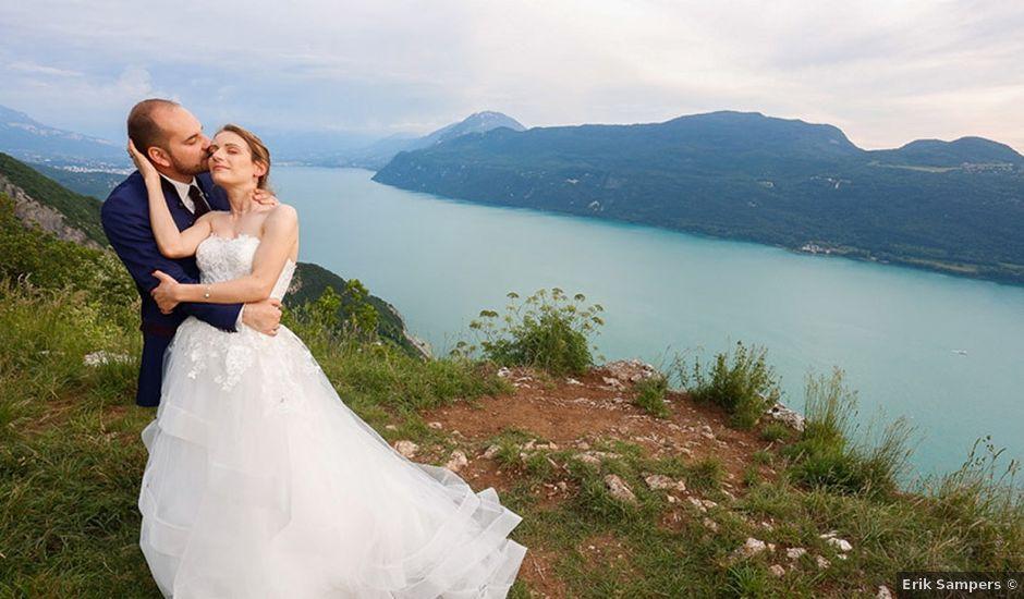 Le mariage de Thibaut et Fanny à Aix-les-Bains, Savoie