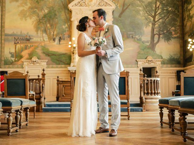 Le mariage de Fabrice et Marie à Asnières sur Seine, Hauts-de-Seine 85
