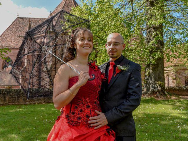 Le mariage de Damien et Chiona à Saint-Dié, Vosges 2