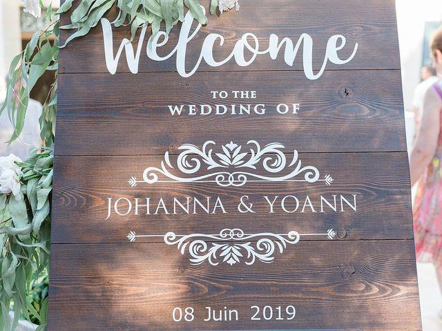 Le mariage de Johanna et Yoann