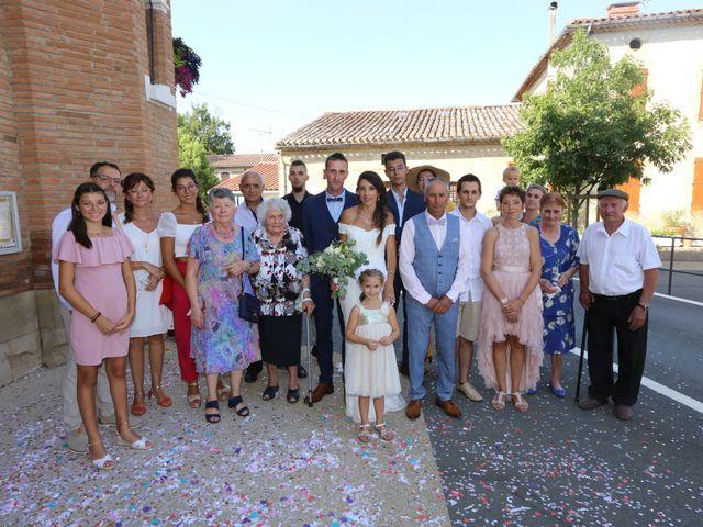 Le mariage de Sébastien et Mélody à Lescout, Tarn 37