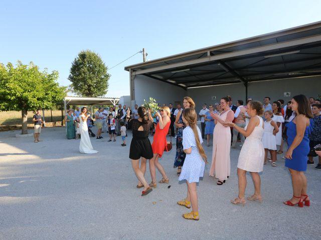 Le mariage de Sébastien et Mélody à Lescout, Tarn 63