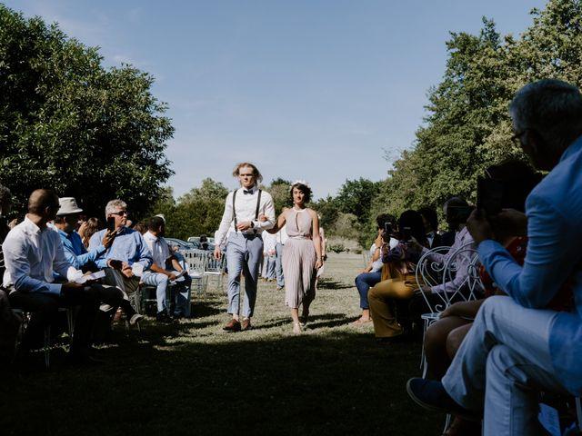 Le mariage de Josh et Débora à Vimory, Loiret 45