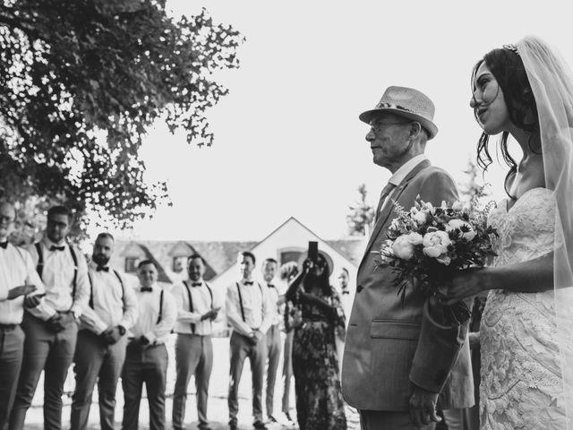 Le mariage de Josh et Débora à Vimory, Loiret 50