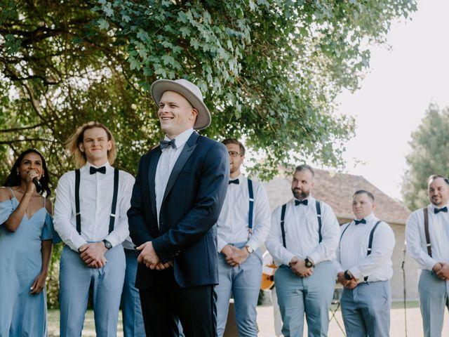 Le mariage de Josh et Débora à Vimory, Loiret 63