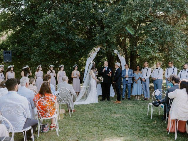 Le mariage de Josh et Débora à Vimory, Loiret 64