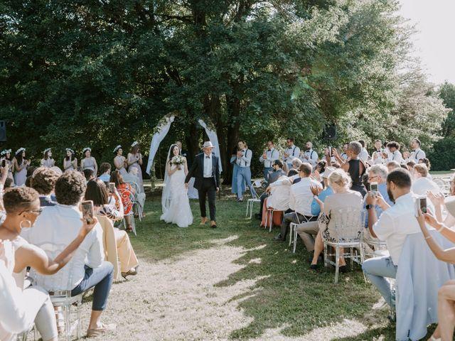 Le mariage de Josh et Débora à Vimory, Loiret 74