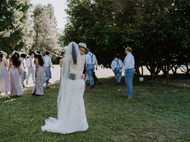 Le mariage de Josh et Débora à Vimory, Loiret 75