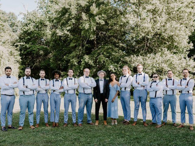 Le mariage de Josh et Débora à Vimory, Loiret 82