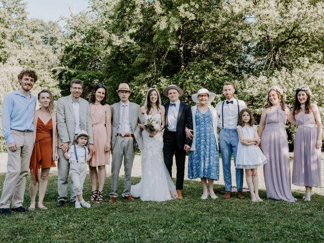 Le mariage de Josh et Débora à Vimory, Loiret 84