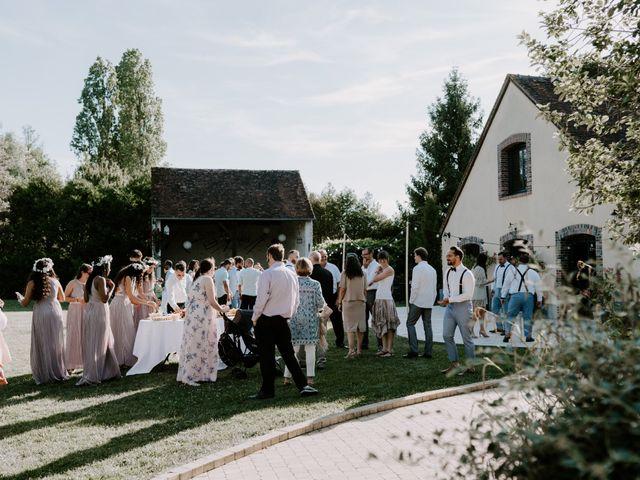 Le mariage de Josh et Débora à Vimory, Loiret 92