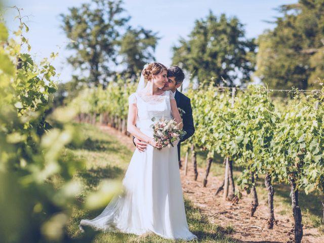 Le mariage de Jean-Charles et Justine à Lignan-de-Bordeaux, Gironde 24