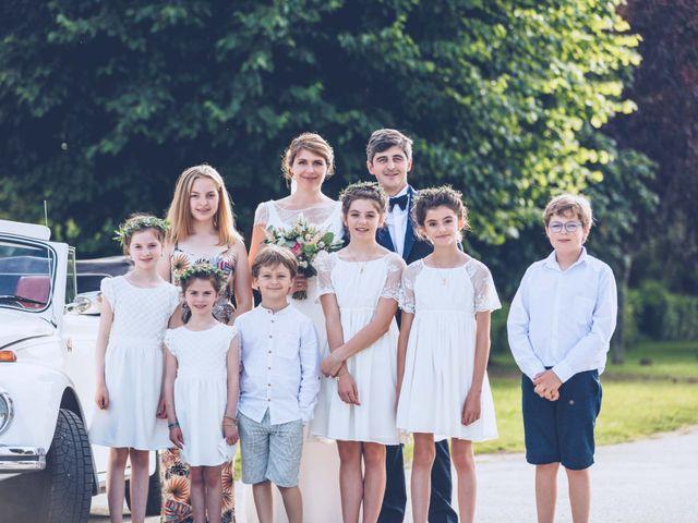 Le mariage de Jean-Charles et Justine à Lignan-de-Bordeaux, Gironde 33