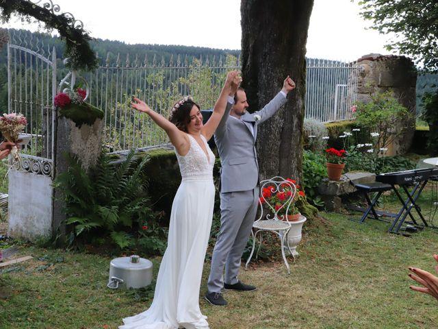 Le mariage de Colin et Angelina à Saint-Genest-Malifaux, Loire 2