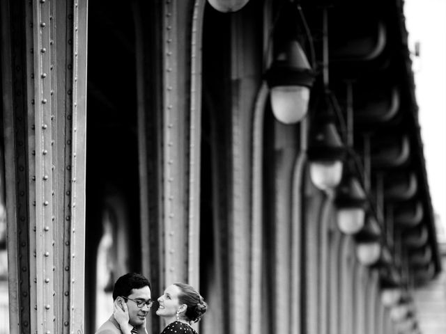Le mariage de Henry et Isabelle à Paris, Paris 35