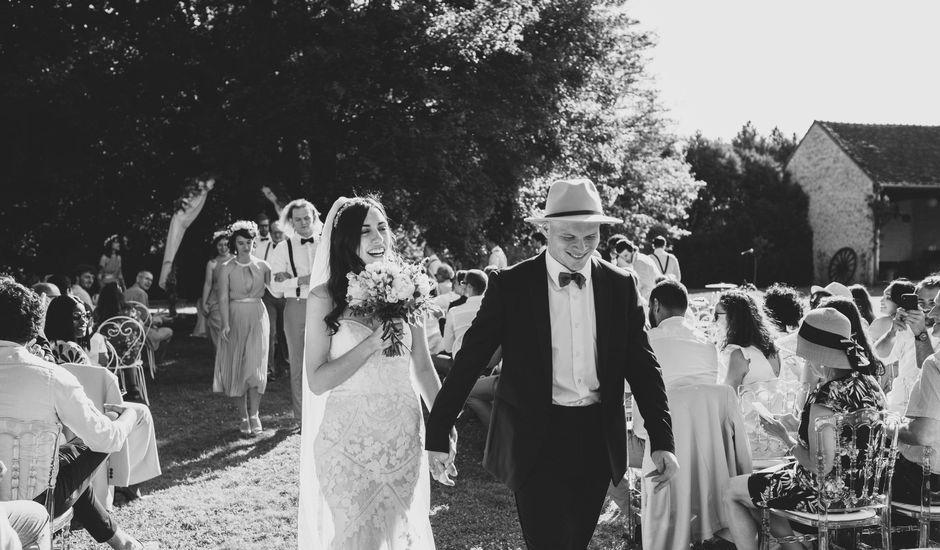 Le mariage de Josh et Débora à Vimory, Loiret