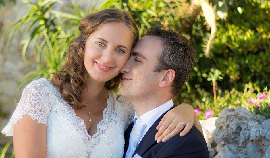 Le mariage de Ekaterina et Giampaolo à Antibes, Alpes-Maritimes