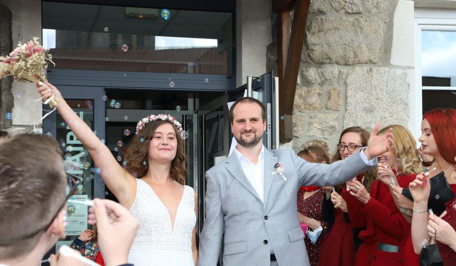Le mariage de Colin et Angelina à Saint-Genest-Malifaux, Loire