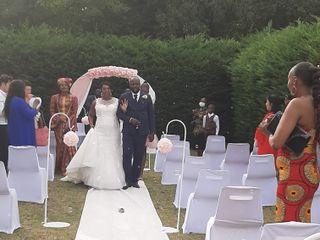 Le mariage de Séverine et Ekiam