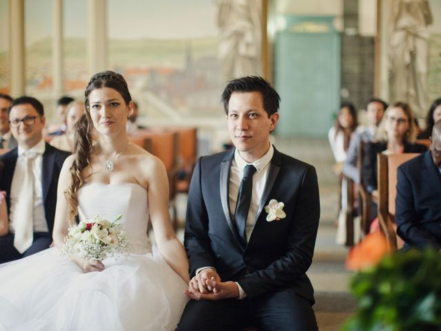 Le mariage de Gabriel et Julie à Pontgibaud, Puy-de-Dôme 4