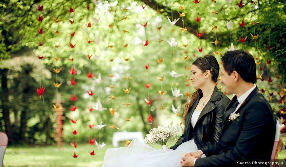 Le mariage de Gabriel et Julie à Pontgibaud, Puy-de-Dôme
